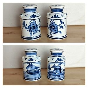 DELFT BLUE, made in Holland salt and pepper shaker